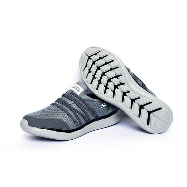 حذاء رجالي اسكيتشرز مرن و مريح - رصاصي