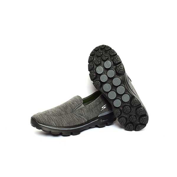 حذاء رجالي اسكيتشرز مرن و مريح -رصاصي