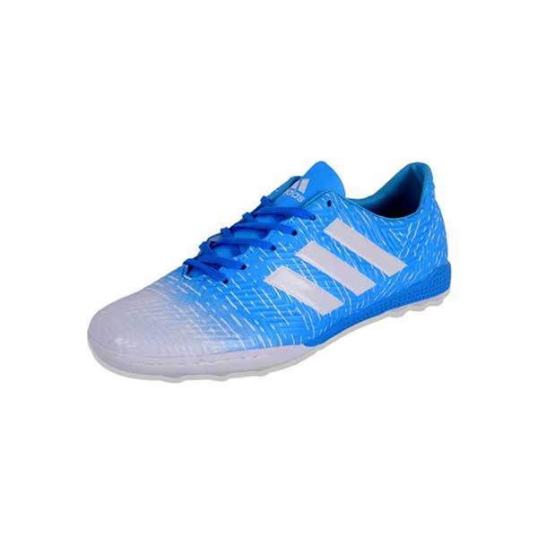حذاء رياضي للكرة نعل ترتان - ازرق
