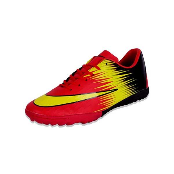 حذاء رياضي للكرة نعل ترتان - اسود*احمر