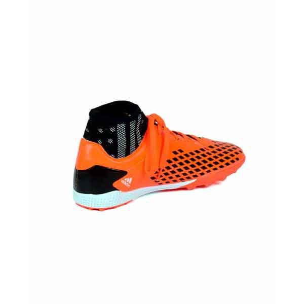 حذاء كرة قدم ترتان- جلد - اورنج