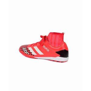 حذاء كرة قدم ترتان- جلد - احمر