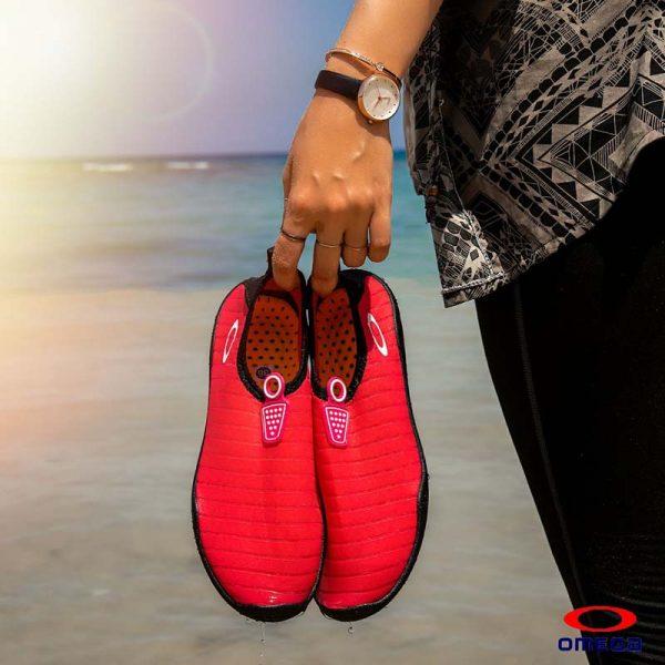 حذاء بحر حريمي - سنتيتك - احمر