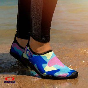 حذاء بحر حريمي - سنتيتك - ازرق*لبني