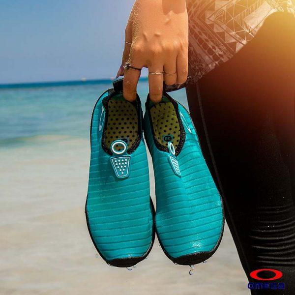 حذاء بحر حريمي - سنتيتك - تركواز