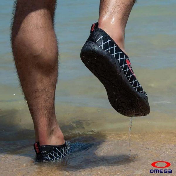 حذاء بحر رجالي - سنتيتك - اسوداحمر