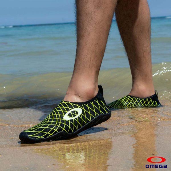 حذاء بحر رجالي - سنتيتك - اسود*اخضر
