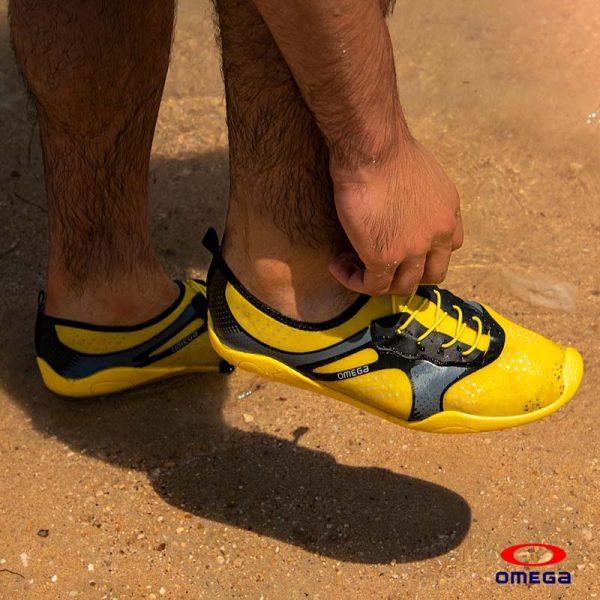 حذاء بحر رجالي - سنتيتك - اصفر