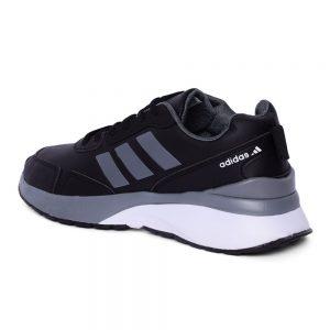 كوتشي رجالي- اسود - جلد - Adidas