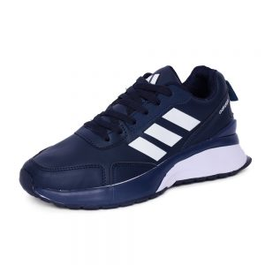 كوتشي رجالي- كحلي - جلد - Adidas